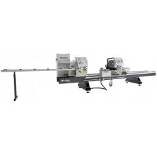 Механический двухголовый станок для резки профиля из ПВХ и алюминия AB 1030
