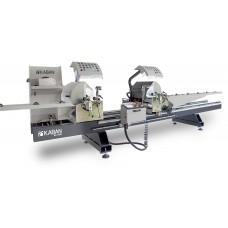 Автоматический двухголовый станок для резки профиля из ПВХ и алюминия KABAN MAKINA AC 1040