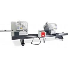 Автоматический двухголовый станок с сервоприводом для резки профиля из ПВХ и алюминия  KABAN MAKINA AC 1050