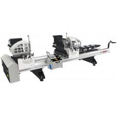 Двухголовочный станок для нарезания ПВХ профиля с серво двигателями KABAN MAKINA HB 3010
