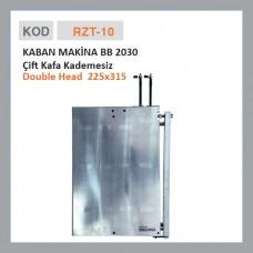 RZT-10 KABAN MAKİNE BB 2030 Двойная головка (старая)