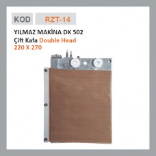 RZT-14 YILMAZ MAKİNE DK 502 Двойная головка