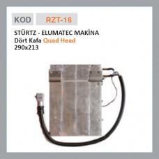 RZT-16 STÜRTZ - ELUMATEC MAKİNE Четыре головы (290x213)