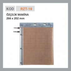 RZT-19 ÖZÇELİK MAKİNE 266x202 мм