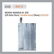 RZT-2 MURAT MAKİNE KC 258 Двойная головка (новая)